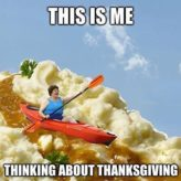 THE DAY BEFORE THANKSGIVING